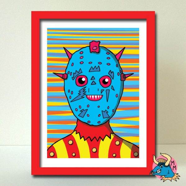 Android Art Print