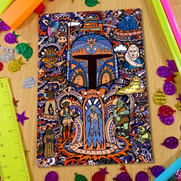 Boba Fett Notebook Front Cover