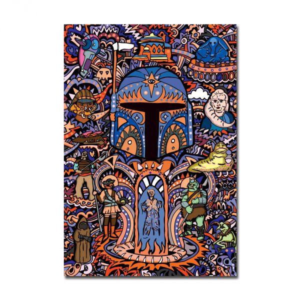 Boba Fett Notebook Front Cover