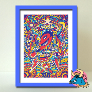 El Diablo Art Print