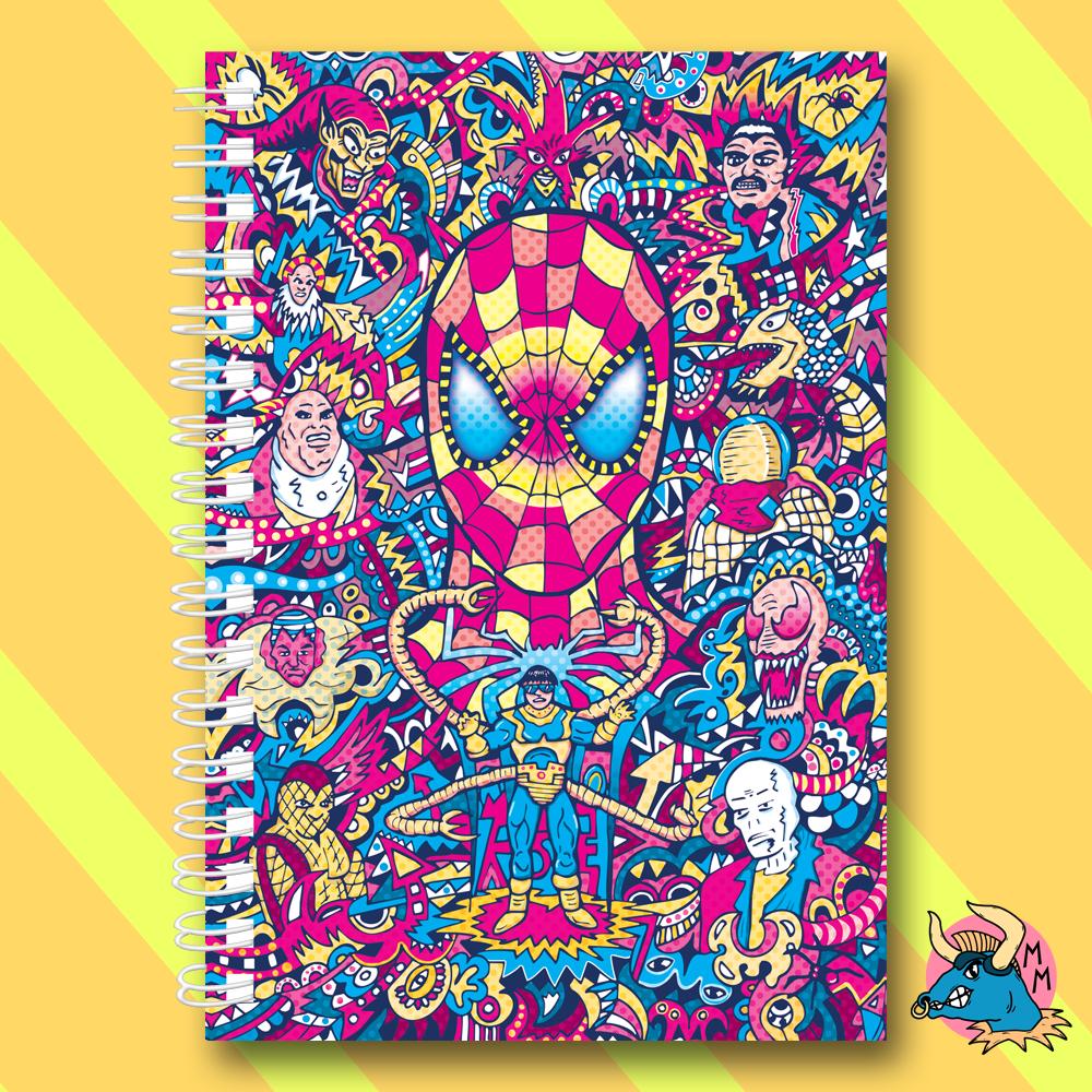 SpiderMan Notebook