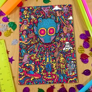 Greedo Notebook Front Cover