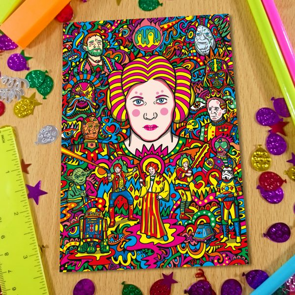 Princess Leia Notebook Front Cover