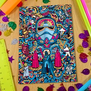 Stormtrooper Notebook Front Cover