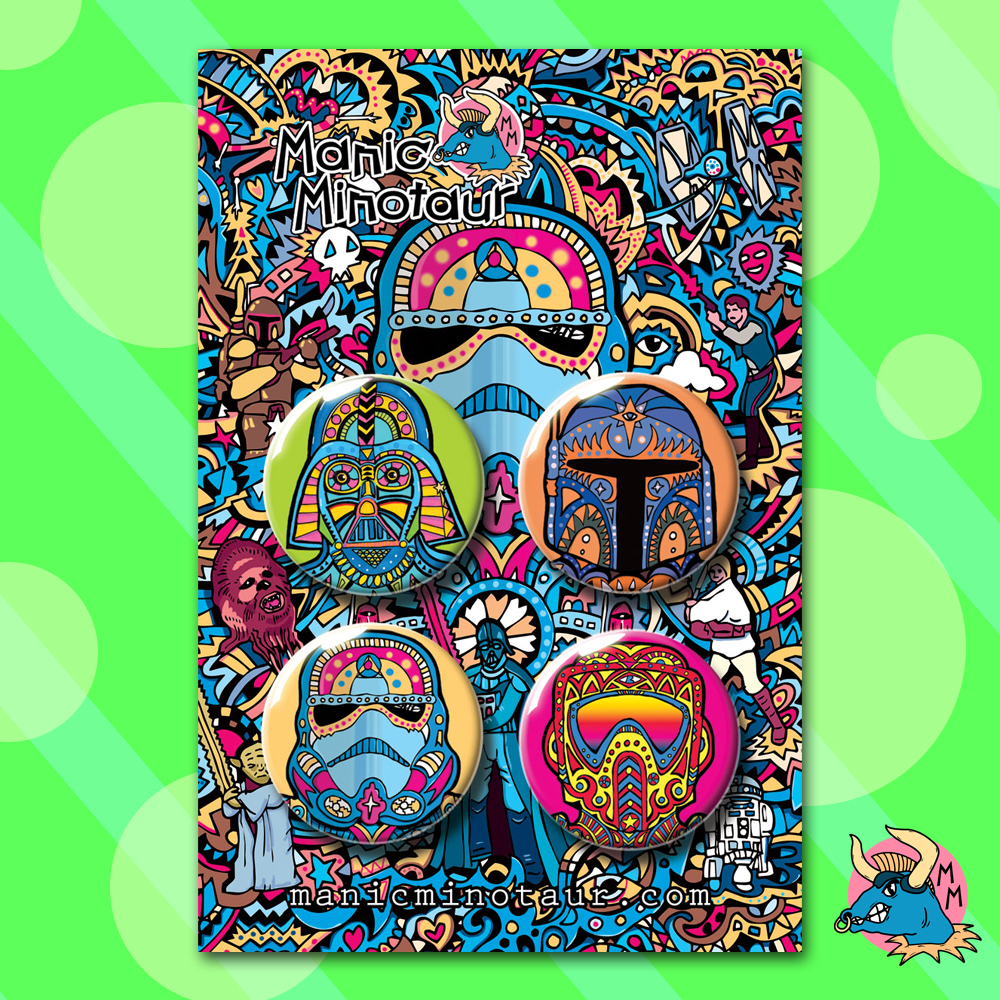 Star Wars Badges