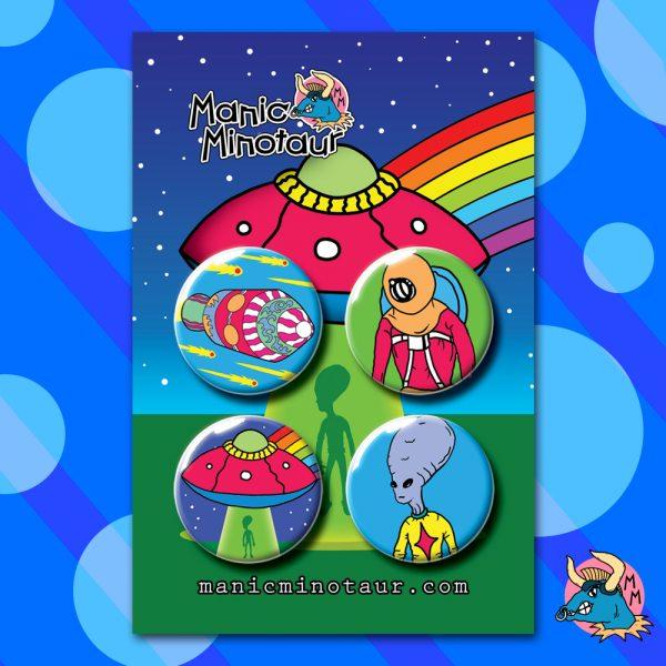 UFO Badge Pack