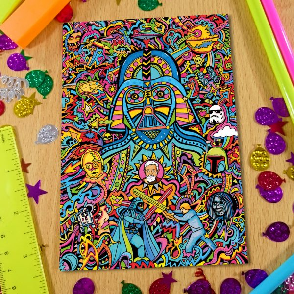 Darth Vader Notebook Front Cover