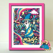 Wizard Art Print