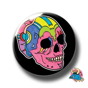 Black Skull Badge