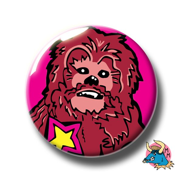 Chewbacca Badge