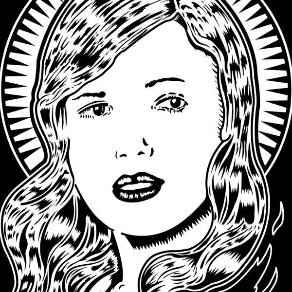 Dark Heart Art Print