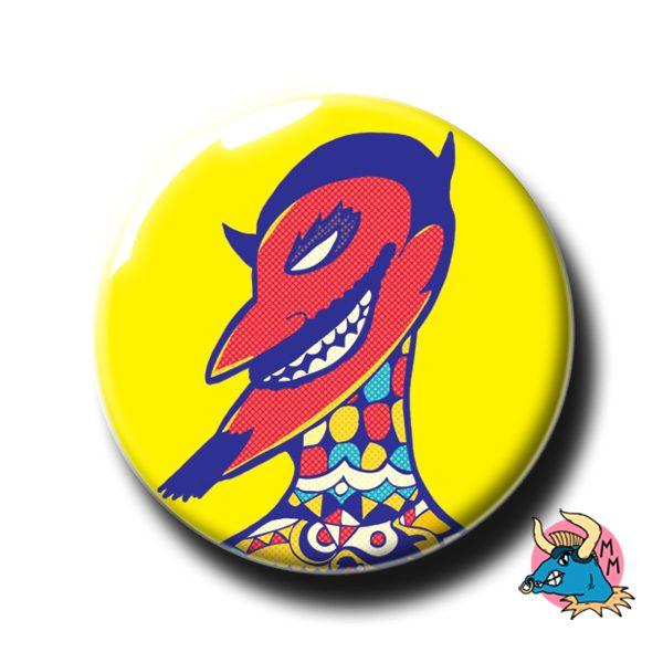 Devil Badge
