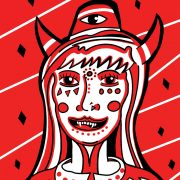 Devil_Woman_Print_by_Manic_Minotaur_sq