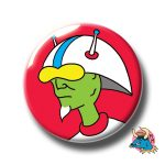 Green Alien Badge