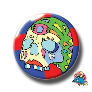 Green Skull Badge