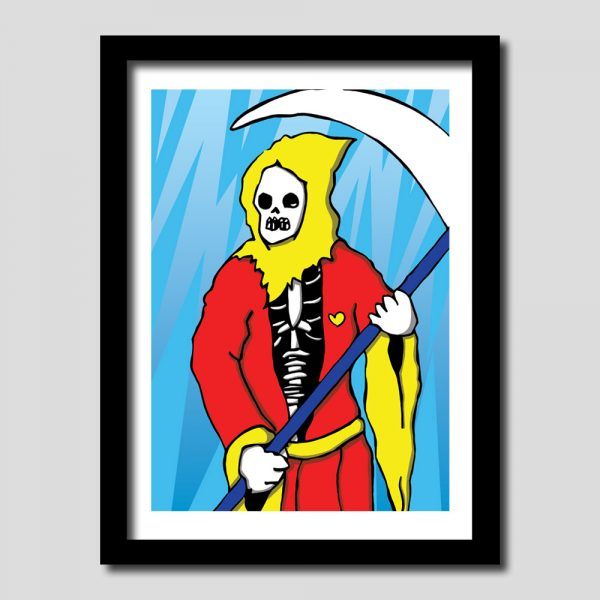 Grim Reaper Art Print