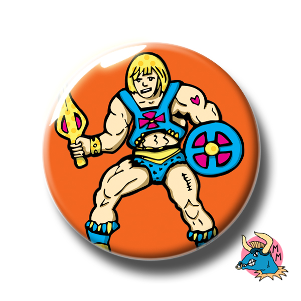 He-Man Badge