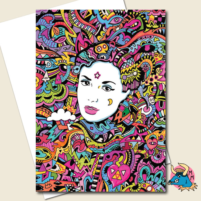 Lost Girl Greeting Card