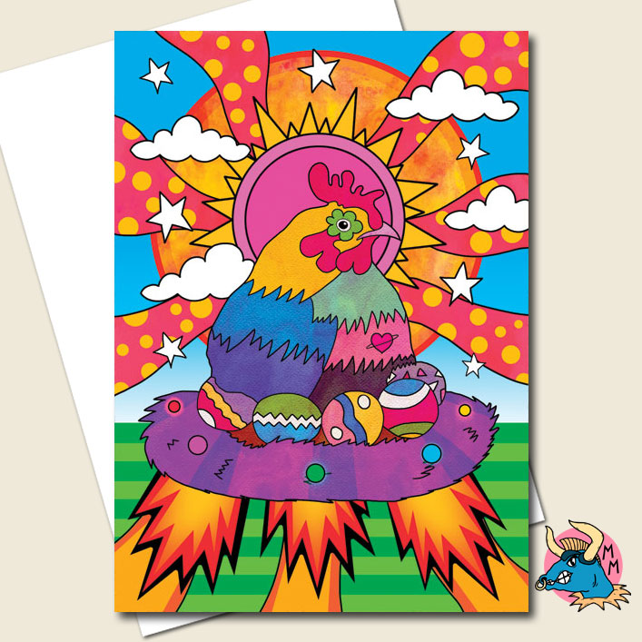 Chicken Greeting Card