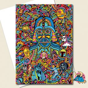 Darth Vader Greeting Card