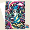 Wizard Greeting Card