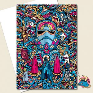 Stormtrooper Greeting Card