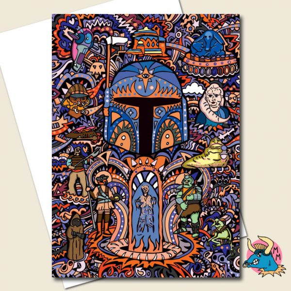 Bounty Hunter Greeting Card