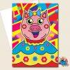Pig Greeting Card