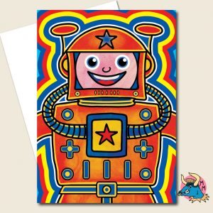 Cosmonaut Greeting Card