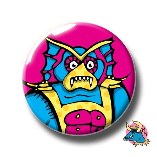 Mer-man Badge