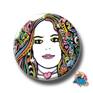 Rainbow Girl Badge