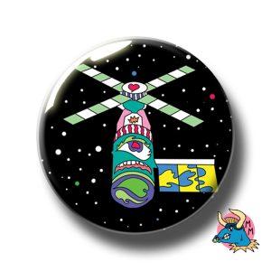 Satellite Badge