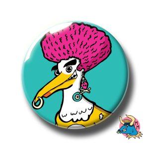 Brighton Seagull Badge