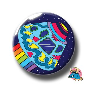 Space Capsule Badge