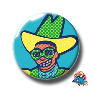 Space Cowboy Badge