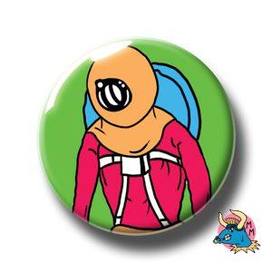 Spaceman Badge