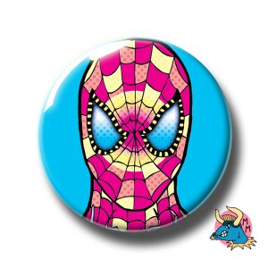 Spiderman Badge Blue