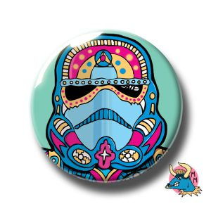 Stormtrooper Badge Teal