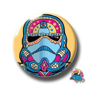Stormtrooper Badge Yellow