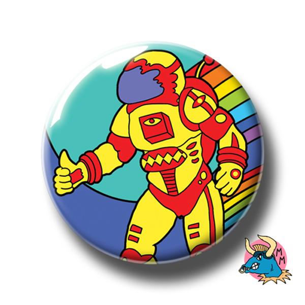 Super Spaceman Badge