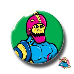 Trap Jaw Badge