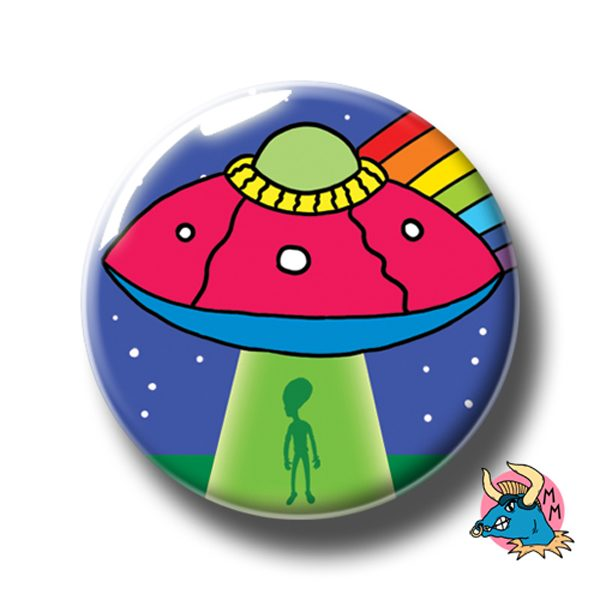 UFO Badge