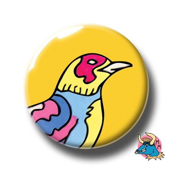 Yellow Raven Badge