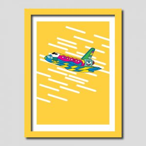Space Shuttle Art Print