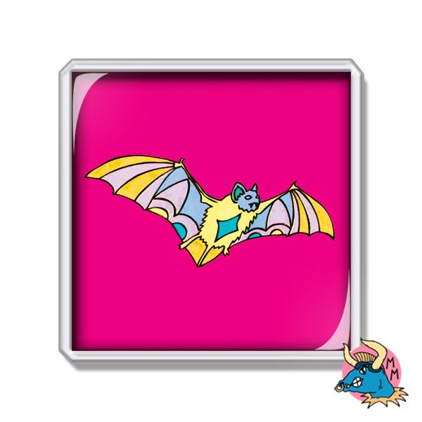 Bat Fridge Magnet