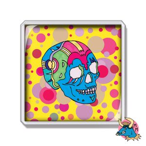 Skull Fridge Magnet