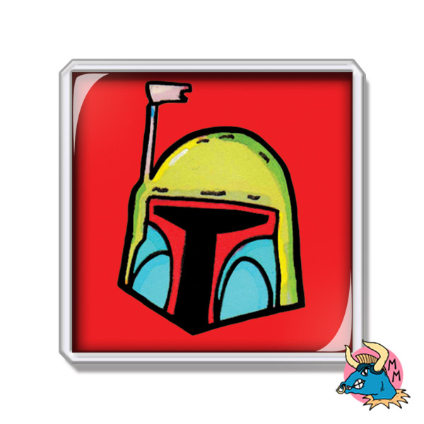 Boba Fett Fridge Magnet