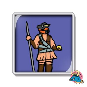 Boushh Fridge Magnet