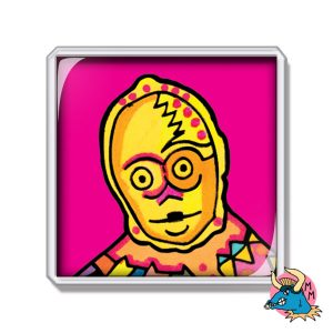 C3PO Fridge Magnet