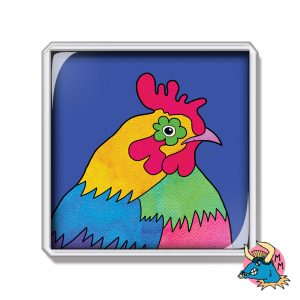 Chicken Fridge Magnet